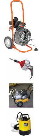 Plumbing Equipment and Trash Pumps