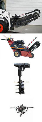 Trencher and Auger Rentals